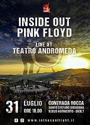 Inside Out Pink floyd - Live at Teatro Andromeda