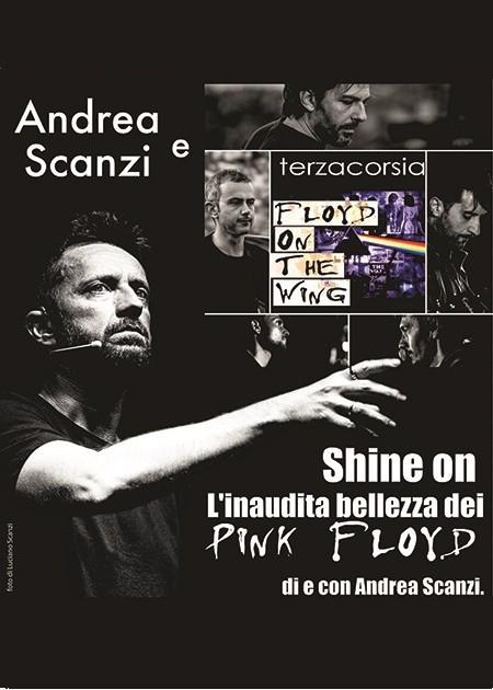 Andrea Scanzi e Floyd On The Wing by Terzacorsia in Shine On
