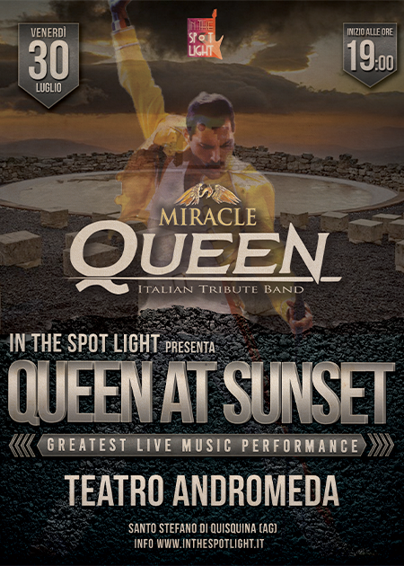 Queen At Sunset - Miracle Queen Live At Teatro Andromeda
