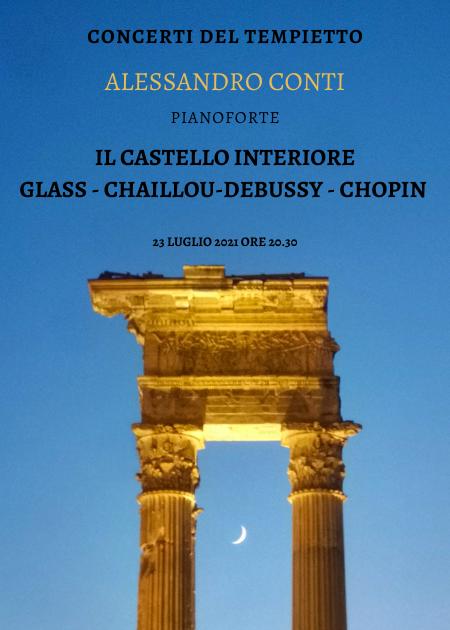 IL CASTELLO INTERIORE GLASS, CHAILLOU-DEBUSSY, CHOPIN