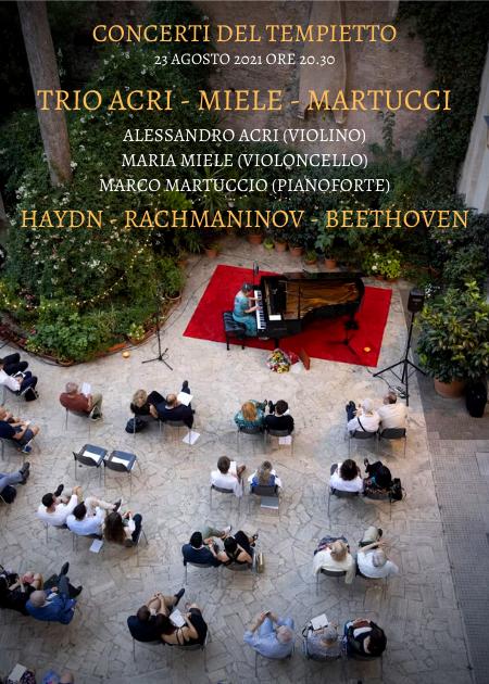 HAYDN RACHMANINOV BEETHOVEN: PIANO TRIO