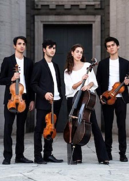 """quartetto Eos """"Le dimore del quartetto"""""""