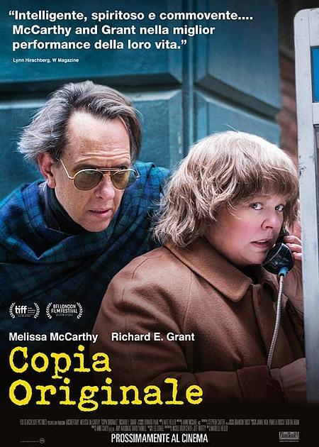 COPIA ORIGINALE (CAN YOU EVER FORGIVE ME?)